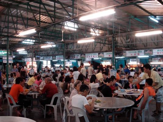 A *HUGE* hawker centre on Tanjong Tokong
