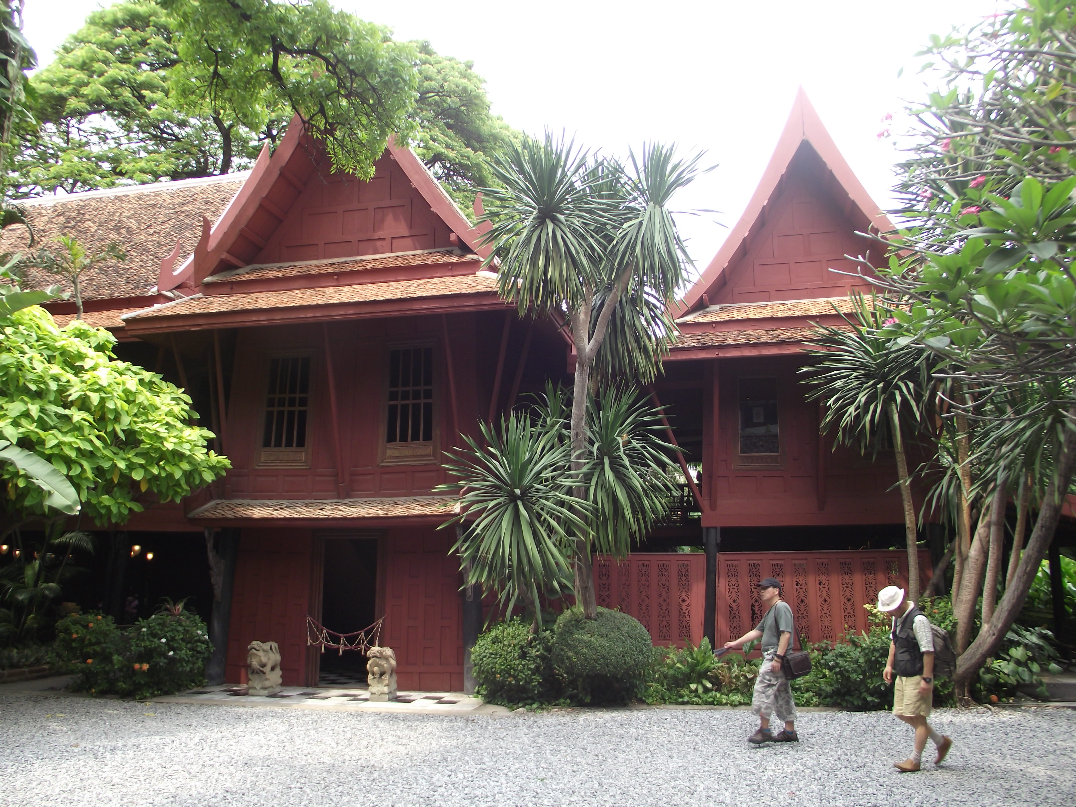 Jim thompson s house the travelling trini for The thompson house