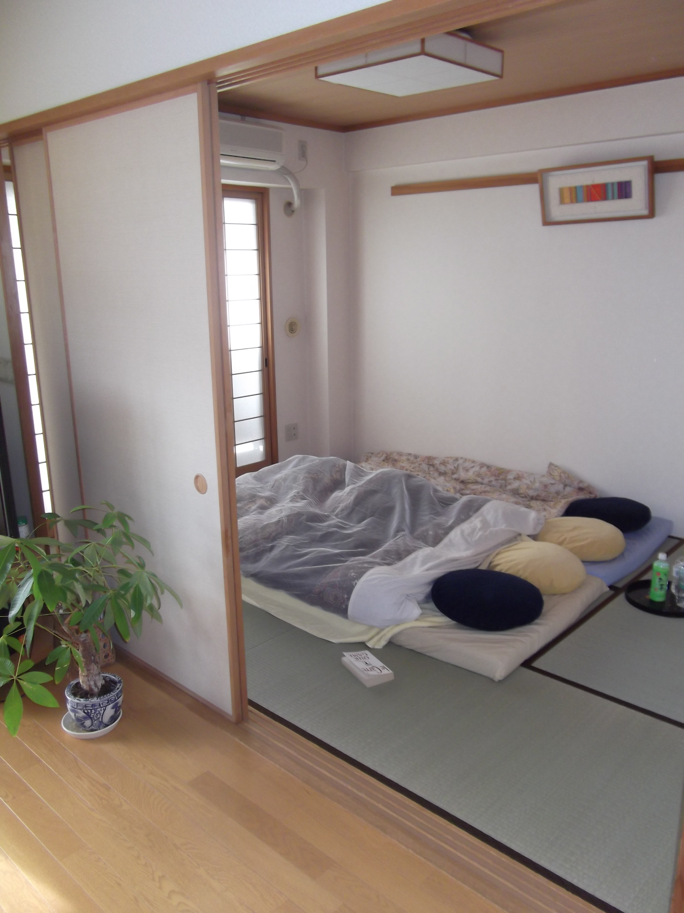What s in a tokyo home the travelling trini for Japanese tatami room design