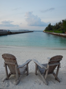 Mellowing out in the Maldives